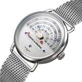 TOMORO TMR1019 Unique Design Calendar Men Wrist Watch