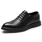 Men Microfiber Dress Shoes Oxfords