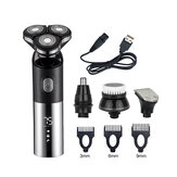 Professional Men's Rechargeable Electric Hair Shaver Multifunctional 4 In 1 Shaver Razor