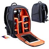 PULUZ PU5011 Outdoor Taşınabilir Su Geçirmez Çizilmeye karşı dayanıklı Çift Omuz Sırt Çantası Kamera Çanta