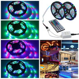 3M 5M 10M 3528 SMD RGB LED Strip Light Niet-waterdichte String Tape Kit + 44 Key IR Afstandsbediening