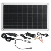 50W 18V Solar Panel Monocrystalline Silicon Battery Charger Kit for Car & Small Household Appliances