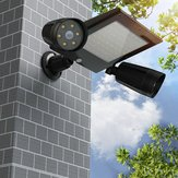 Zonne-energie 76 LED Triple Head PIR Bewegingssensor schijnwerper Spotlight Outdoor tuinlamp