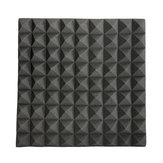 45×45×5cm Black Triangle Insulation Reduce Noise Sponge Foam Cotton