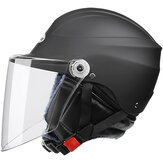 Nuoman Motorcycle Half Helmet Safety Unisex Sunshade Sun Protection Electric Scooter Headpiece