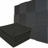 Studio Acoustic Soundproof Foam Panel Tile Sound Absorption Proofing Treatment Wedge 30x30