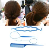Lady Hair Twist Styling Clip Stick Bun Maker Braid Hair Accessoires Tool