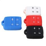Housse de protection à distance en silicone pour 4 boutons pour Ford Edge Explorer