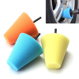6mm Shank Sponge Cone Polishing Foam Pad Buffing Pads Power Drill Accessories