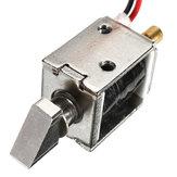 12V DC 0.43Aミニ電気ボルトロックプッシュプルソレノイドキャビネットロック4mmストローク