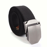 Mens Canvas Military Style Belt Web Waistband