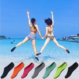 Hombre Mujer antideslizante Playa Calcetines de buceo de secado rápido Calcetines