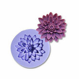 Chrysanthemum Silicone Fondant Mold Cake Decorating Mould Gum Paste Sugarpaste Mold FDA LFGB