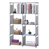 Estante de metal Cube Estante de 5 camadas Display DVD CD Móveis Armazenamento Unidade de estante para alunos