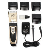 Quiet Mute Electric Trimmer Clipper Shaver Grooming Kit Set for Pet Cat Dog Hair