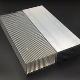 الألومنيوم أشابة وسادة تبريد غرفة التبريد لارتفاع القوة LED IC رقاقة تبريد المبرد بالوعة الحرارة 230 * 80 * 27mm / 150 * 80 * 27mm / 100 * 80 * 27mm