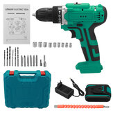 6000 mAh 48 V Elektrische Boor Dual Speed Oplaadbare Power Tool W / 1 / 2pc Batterij