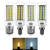 E14 E27 7W 72 SMD 5730 Branco Morno Branco Puro LED Lâmpada de Milho para Decoração de Casa AC220V