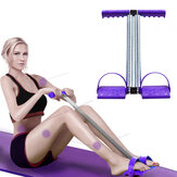 Multifunctional Pedal Puller Sit-ups Arm Muscles Training Home Fitness Pull Rope Spring Exerciser