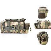 24 * 9 * 18CM Ik lok Multifunctioneel Canvas Waterproof Taille Visser Tas Visser Reel Lure Tackle Bag