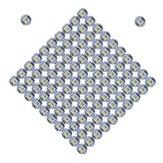 100PCS SK6812 WS2812B RGBW RGBWW Placa de microplaqueta LED endereçável individualmente para iluminação DIY