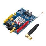 SIM900 Quad Band GSM GPRS Kalkan Geliştirme Kartı Arduino için Geekcreit - resmi Arduino anakartlarıyla çalışan ürünler