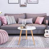 Modern kerek kávés tea oldalsó kanapéasztal Északi minimalista multi-méretű asztal nappali lakberendezéshez