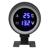 2''52mm Air Pressure Gauge Bar Dual Digital Display Ride Meter KIT & Sensor