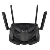 ZAPO Z-2600 Dual Band Wireless Router 2600Mbps 11AC Gaming Wifi Router with USB Port 4*Antenna