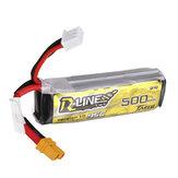 TATTU R-LINE 1.0 7,4 V 500 mAh 95C 2S Lipo Batterie XT30 Stecker für Makerfire Armor 85 HD 85 mm bürstenloser FPV CineWhoop V2