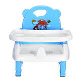 4 in1 Adjustable Baby Chairs Feeding Dining Table Seat Belt Dinner Plate Mat