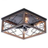 E26 / E27 Plafon retro embutido de montagem lâmpada vintage industrial sala de estar, cozinha 110-240V