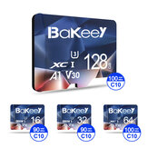 Bakeey BK-TF2 Flash Card 16GB 32GB 64GB 128GB Class 10 High Speed TF / SD Memory Card With Card Adapter For Mobile Phone for iPhone for Samsung Monitor Camera Drone