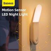 BaseusSmart160°USB充電LEDナイトライトPIRサンシャインシリーズ人体誘導通路ライト