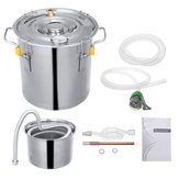 10L/18L/30L Stainless Other Water Alcohol Distiller Moonshine Home DIY Brewing Kit