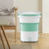 220V Portable Folding Laundry Ultrasoni Semi-automatic Clothes Washing Machine Bucket