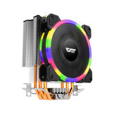 DarkFlash L5 RGB CPU Cooling Fan PC Case Cooler 120mm Radiator TDP 285W Heat Sink for Intel LGA775 / 2011/1151/1150/1155/1156/1366