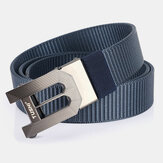 Men Nylon 120cm Automatic Buckle Casual Young All-match Jeans Belt