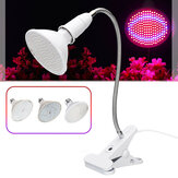 AC85-265V 15W 20W 26W E27 LED Bombilla Planta Grow Light Desktop Growth Lámpara para Flower EU Plug