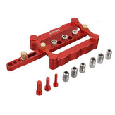 Drillpro Self Centering Dowelling Jig for Metric Dowels 6/8/10mm Precise Punch Locator Drilling Tools
