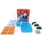 Classic Lotto Bingo Game Machine Rotary Cage Family Party Educational Game Toy