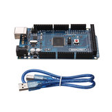 3Pcs MEGA 2560 R3 ATmega2560-16AU MEGA2560 Development Board With USB Cable Geekcreit for Arduino - products that work with official Arduino boards