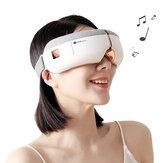 [Funziona con HUAWEI HiLink] KAISUM A3 Massaggiatore occhi wireless pieghevole con 8 airbag 5 modalità Surround Stereo Sound Cuffie per dormire Cura degli occhi Hot Compress Occhiali