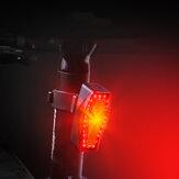 BIKIGHT WD12 500mAh feu arrière de vélo 6 Modes Type-C charge lampe arrière de vélo étanche cyclisme en plein air