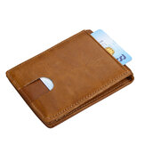 Men Or Women RFID Genuine Leather Wallet Card Holder