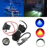 9w ip68 tarifa impermeável 6 LED bulbo de luz de tomada de dreno de barco do carro
