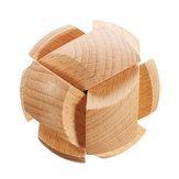 Kong Ming serratura Giocattoli Bambini Bambini Assemblaggio Sfida Puzzle 3D Cube IQ Toy Brain Toy