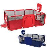 190x129cm 3 in 1 Baby Playpen Interactive Safety Gate Children Play Yards Tent Basketball Court