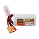 ZOP POWER 11.1V 850mAh 70C 3S Lipo Batterie Avec prise JST Plug XT60