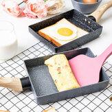 Bếp cầm tay chống dính y tế phủ đá Chiên Pan Omelette Egg Roll Maker Pot